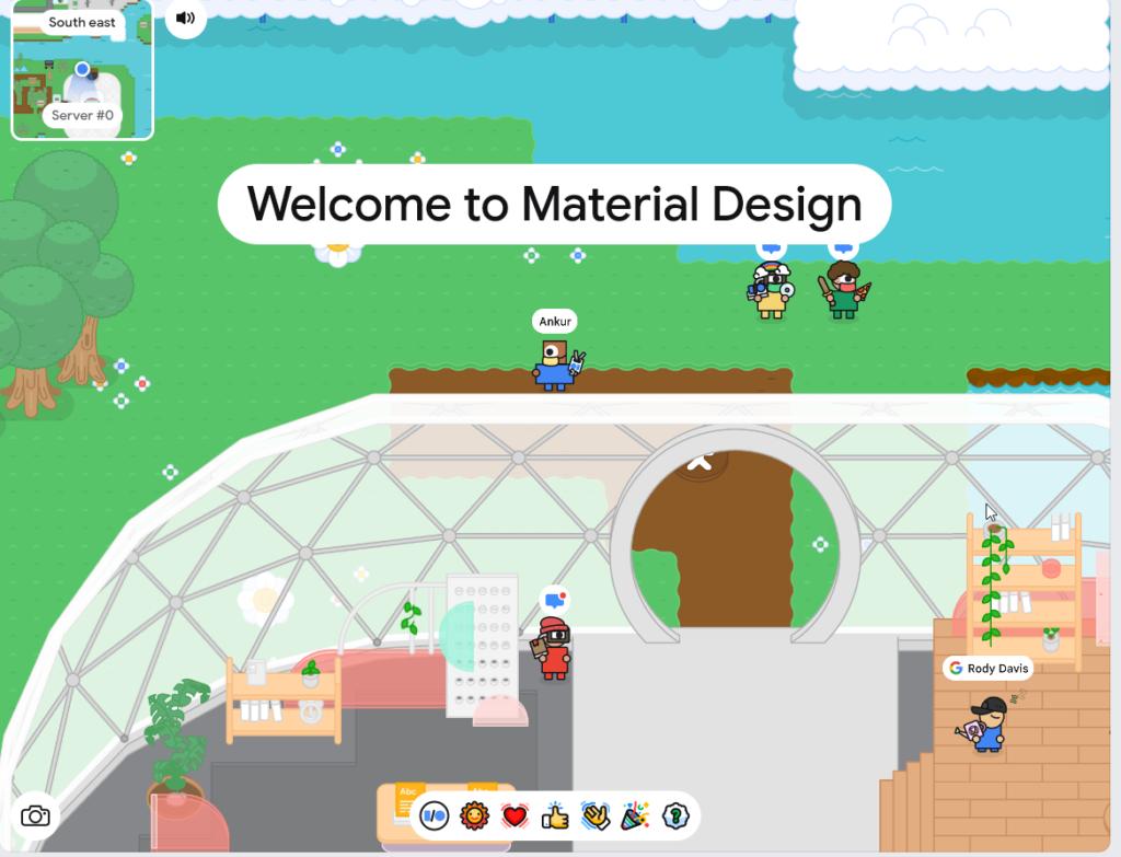 Google I/O Virtual Game