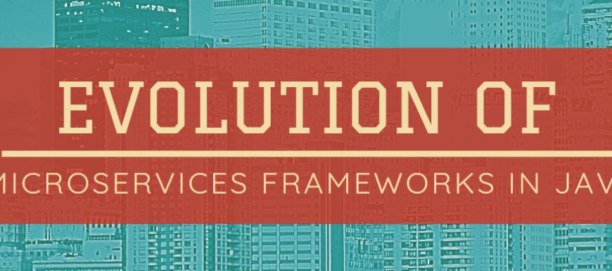Evolution of Microservices Frameworks & Services (API) Development in Java